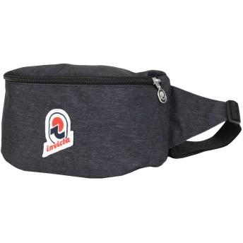 《セール開催中》INVICTA Unisex バックパック&ヒップバッグ スチールグレー ポリエステル 100% WAIST BAG 25 SOLID