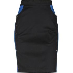 《セール開催中》KENZO レディース デニムスカート ブラック 40 コットン 98% / ポリウレタン 2%