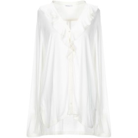 《期間限定セール開催中!》MARELLA レディース シャツ ホワイト XL レーヨン 90% / シルク 10%