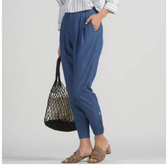 【J Lounge:パンツ】ストレッチスリムテーパードパンツ