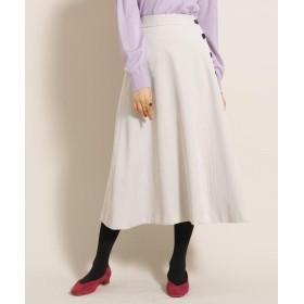 anatelier/Bon mercerie(アナトリエ/ボン メルスリー) サイドボタン コーデュロイスカート