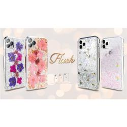 Switcheasy iPhone 11 Pro Max (6.5吋)- Flash閃耀系列 - 粉花金箔/紫花銀箔/真碎貝殼/彩虹小馬