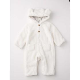 【ANGELIEBE/エンジェリーベ】【moc mof】アニマル着ぐるみジャンプスーツ シロクマ 90