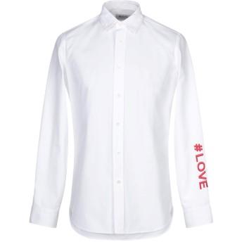 《セール開催中》PORTS 1961 メンズ シャツ ホワイト 39 コットン 100%