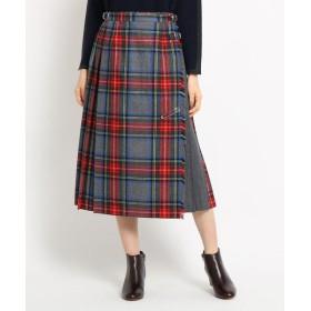 Dessin / デッサン ◆【Dessin別注カラー Sサイズあり】O'NEIL OF DUBLIN チェックラップスカート