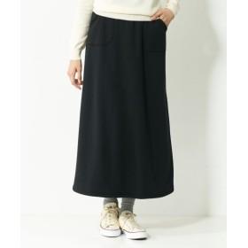 裏起毛カットソーロングスカート(ゆったりヒップ) (大きいサイズレディース)スカート, plus size, Skirts, 裙子