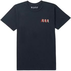 《期間限定セール開催中!》MOLLUSK メンズ T シャツ ダークブルー S コットン 100%