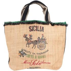 《期間限定セール開催中!》DOLCE & GABBANA レディース ハンドバッグ サンド 紡績繊維