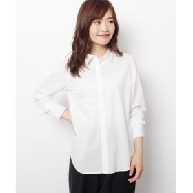 エッシュ シアーストライプシャツ レディース オフホワイト(303) 42(L/ミセス) 【esche】
