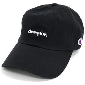 Champion(チャンピオン) キャップ 刺繍 ブラック Free