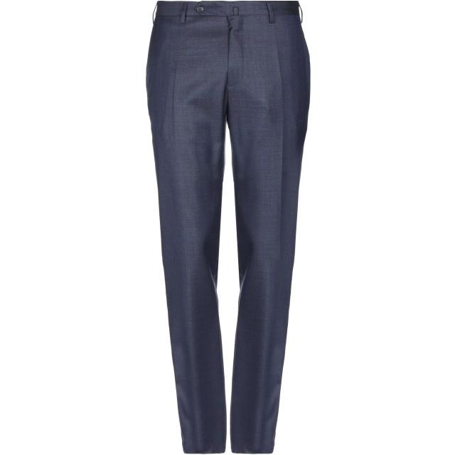 《セール開催中》INCOTEX メンズ パンツ ダークブルー 46 バージンウール 100%