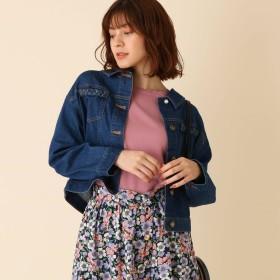 Couture Brooch(クチュールブローチ)/【手洗い可】2WAYデニムジャケット