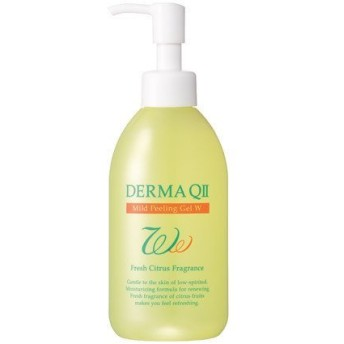 デルマ QⅡ マイルドピーリングゲル W フレッシュ シトラス の 香り