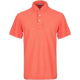 《セール開催中》NAPAPIJRI メンズ ポロシャツ オレンジ S コットン 100%