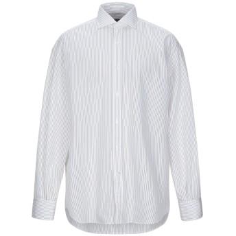 《セール開催中》BRUNELLO CUCINELLI メンズ シャツ ホワイト XXL コットン 100%
