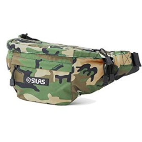SILAS(サイラス)BOX LOGO FANNY PACK カモ ONE SIZE