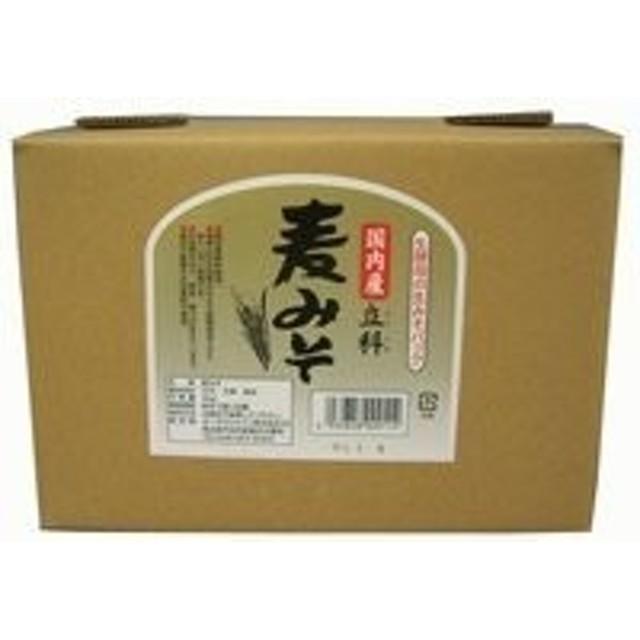 オーサワジャパン 国内産立科麦味噌(箱入り) 3.6kg【6055】