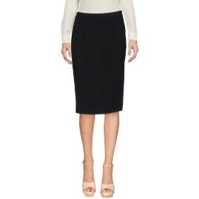 《セール開催中》EMMA & GAIA レディース ひざ丈スカート ブラック 40 ポリエステル 100%