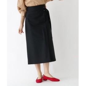 DRESSTERIOR / ドレステリア ベルト付きメルトンスカート