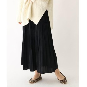 DRESSTERIOR / ドレステリア 【洗える】デシンワッシャー プリーツスカート