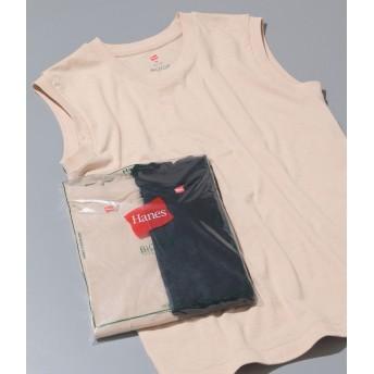 ADAM ET ROPE'(アダム エ ロペ)/【Hanes FOR BIOTOP】Sleeveless T-Shirts(カラー)