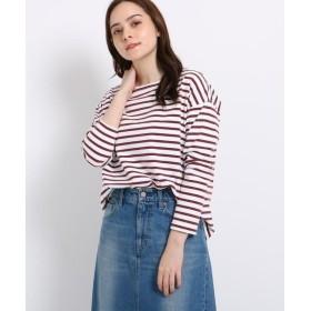 JET / ジェット 【洗える】ヴィンテージボーダーロングTシャツ