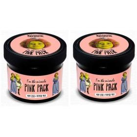 オリーブヤングドリームワークスアインダミラクルフィオナピンクパック100gx2本セットスキンケア、Olive Young Dream Works I'm the Miracle Fiona Pink Pack 100g x 2ea Set Skin Care[並行輸入品]