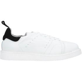 《セール開催中》HECON メンズ スニーカー&テニスシューズ(ローカット) ホワイト 40 革