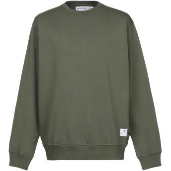 《セール開催中》DEPARTMENT 5 メンズ スウェットシャツ ミリタリーグリーン XL 100% コットン