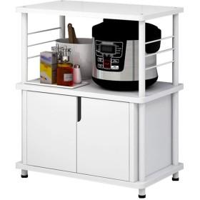 多機能電子レンジラックフロアスタンドロッカー炊飯器|オーブン|食器類|調味料収納ラック GW (サイズ さいず : L60×W36×H68.6cm)
