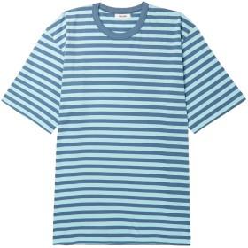 《セール開催中》TRS BIEN メンズ T シャツ スカイブルー XS コットン 100%
