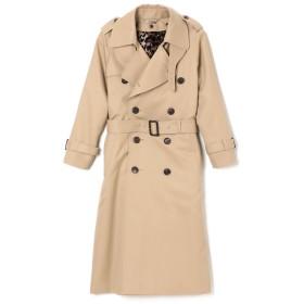 beautiful people(ビューティフルピープル)/ultimate pima twill maxilong trench coat