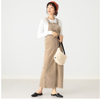 【B:MING LIFE STORE by BEAMS:ワンピース】Lee × B:MING by BEAMS / 別注 サロペットスカート 19AW