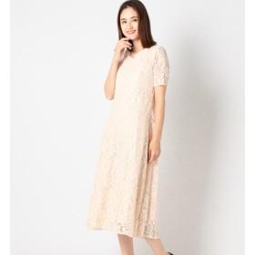 【ミューズ リファインド クローズ/MEW'S REFINED CLOTHES】 総レースミモレワンピース