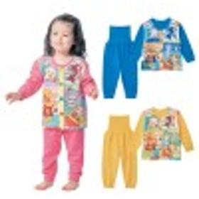 ニットキルト腹巻付きお着替え応援パジャマ【あったか】