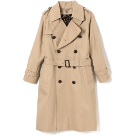 beautiful people(ビューティフルピープル)/ultimate pima twill long trench coat