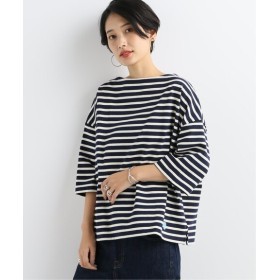 BOICE FROM BAYCREW'S ORCIVAL COTTON LOURD SOLID STRIPE ブルー 1
