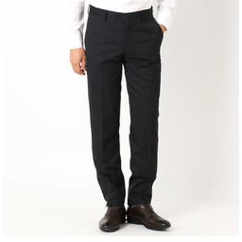 【COMME CA ISM:スーツ・ネクタイ】《セットアップ》ウールギャバ スーツパンツ