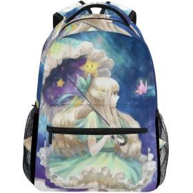 バックパック旅行女の子漫画スクールブックバッグショルダーラップトップデイパックカレッジバッグ用レディースメンズボーイズガールズ