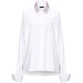 《セール開催中》LANVIN レディース シャツ ホワイト 38 コットン 100%