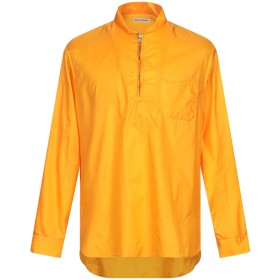 《期間限定セール開催中!》OUR LEGACY メンズ シャツ オレンジ 48 ナイロン 100%