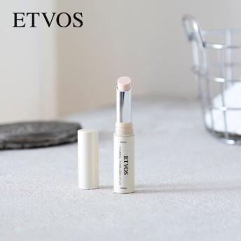 エトヴォス(ETVOS) ミネラルポアレススティック 2.5g / エトボス 化粧下地 メイク直し テカり マット肌 敏感肌 毛穴 石けんオフ ミネラルメイク