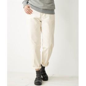 すごのびストレッチコーデュロイテーパードパンツ(もっとゆったり太もも)(股下69cm) (大きいサイズレディース)パンツ,plus size, Pants, 子, 子