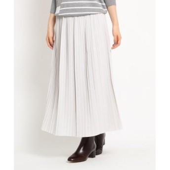 Dessin / デッサン 【Sサイズあり】ジョーゼットプリーツスカート