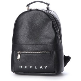 リプレイ REPLAY エコレザー バックパック (ブラック)