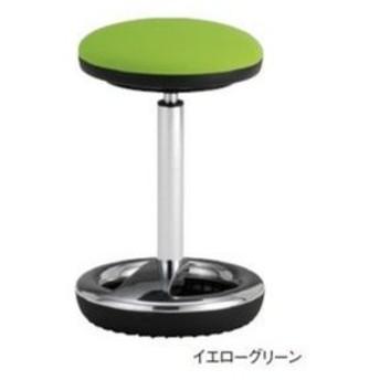 スツール スイング脚タイプ 丸椅子 背なしチェア 肘なしチェア オフィスチェア 高さ調節チェア 事務所 休憩スペース MSH-20
