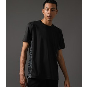 【AZUL by moussy:トップス】【MEN'S】CLUBAZUL HYBRID T-SHIRT