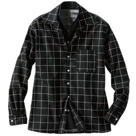イタリアンカラー切替デザインシャツ カジュアルシャツ, Shirts, 衫, 襯衫