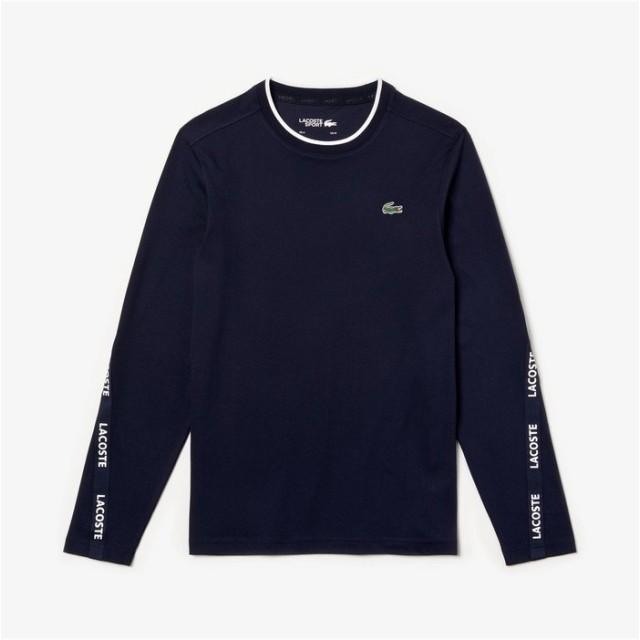 【30%OFF】 ラコステ テニストレーニングロングスリーブTシャツ メンズ ネイビー 2(日本サイズS) 【LACOSTE】 【セール開催中】