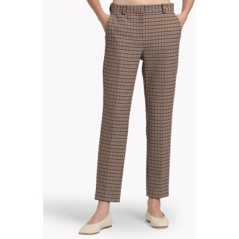 【Theory】Bistretch Plaid Tailored Trouser J
